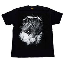 Camiseta Metallica Original Consulado Do Rock Cod 938