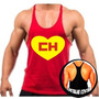 Camiseta Regata Cavada Chapolin Musculação Academia Treino