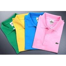 Camisas Kit Com 10 Polo Masculina Marcas Grife Frete Gratis