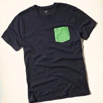 Camisa Camiseta Blusa Hollister Masculina Original Casual