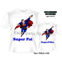 Camiseta Dia Dos Pais Personalizada Kit Tal Pai Tal Filho