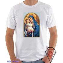 Camiseta Nossa Senhora Do Carmo, Religioso, Santa
