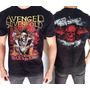 Camiseta De Banda - Avenged Sevenfold - Hail To The King