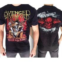 Camiseta De Banda - Avenged Sevenfold - Hail To The King