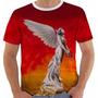 Camisa Camiseta Baby Look Regata Angra Angels Cry Color