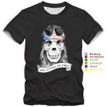 Camisa Personalizada Guns`n Roses Rock 100% Algodão Preta