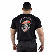 Camiseta Estampada Polícia Do Exército Cães - Original