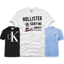 Camisetas Original; Calvin Klein / Hollister Osklen Polo