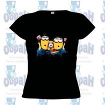 Camisetaminions Meu Malvado Favorito Frete Grátis
