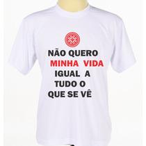 Camisa Banda Rosa De Saron Personalizada Banda Rock Catolica