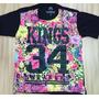 Compre Já Camiseta Kings 34 Sneakers Floral Importada