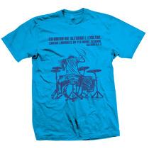 Camiseta Gospel Pense Luz: Batera (baterista)