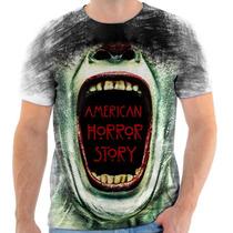 Camiseta Camisa American Horror Story
