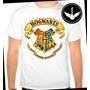 Camiseta Harry Potter Hogwarts Baby Look Regata Filme Livro