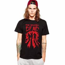 Camiseta The Walking Dead Seriados Zumbi Twd