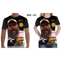 Camisa Camiseta Ufc Roy Nelson 001