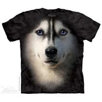 Camisa 3d Siberian Face The Mountain Original