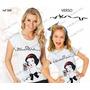 Lembrança De Aniversario Branca De Neve Kit Camiseta 2 Un