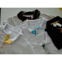 Camiseta Polo Em Malha Fria Varias Cores