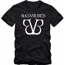 Camiseta Black Veil Brides - Camisas Bandas Rock