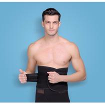 Cinta Masculina Coluna Postura Corretor Modelador Frete Grát