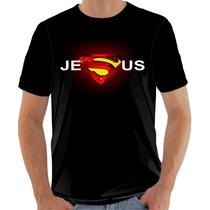 Camiseta Evangélica - Cristã - Super Jesus 2