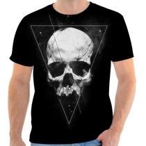 Blusa Caveira Skull Personalizada Sublimacao Masculina
