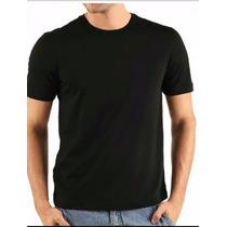 Camiseta Camisa Masculina Preto Basica Fitnes Mma Malha Fria