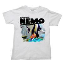 Camiseta Procurando Nemo Procurando Dory Dori Infantil 003