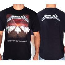 Camiseta De Banda - Metallica - Master Of Puppets