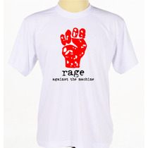 Camiseta Camisa Banda Rap-metal Rage Against The Machine