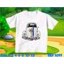 Camiseta Harbie Meu Fusca Personagem Personalizada Infantil