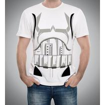 Camiseta Ou Baby-look Stormtrooper Body Corpo Star Wars