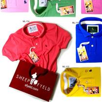 Atacado Kit 20 Camisas Polo, Original Faça Sua Reserva