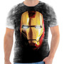 Camisa Camiseta Homem De Ferro Iron Man Heroi Filme Tony 04