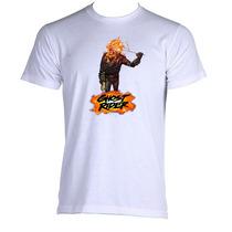 Camiseta Adulto Unissex Motoqueiro Fantasma Ghost Rider 08