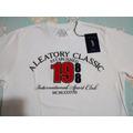 Camiseta Aleatory,nova, Original,branca - Muito Barato!