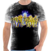 Camisa Camiseta Cavaleiro Dos Zodiaco