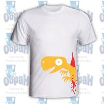 Camiseta Personalizada Engraçadas Dino Doidão Frete Grátis