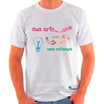 Camiseta Personalizada, Em Sublimação, Fotos Tamanho Até A3!