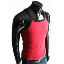 Camiseta Regata Tank012 Masculina Viscose Com Elastano