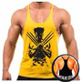 Camiseta Camisa Cavada Musculação Academia Malhar Wolverine