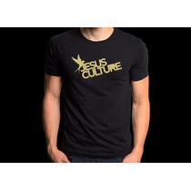 Camiseta Jesus Culture Camisa Rock Gospel