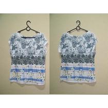 Kit De 3 T-shirts Femininas Estampas Variadas