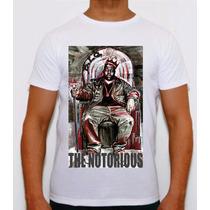 Camisa Camiseta Personalizada Notorious Big 2pac100% Algodão