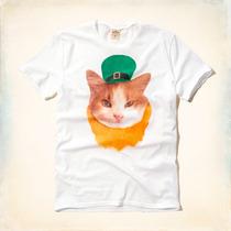 Camisa Camiseta Hollister Gola Classica 100% Original