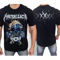 Camiseta De Banda - Metallica - Xxx
