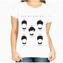 Camiseta Mais Barata Do Ml Feminina One Direction Banda