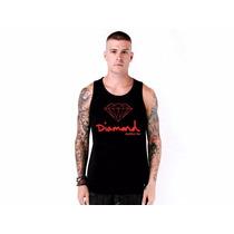 Camiseta Regata Diamond Supply Co Promoção Frete Grátis