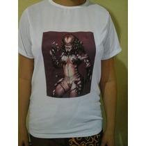 Camiseta Personalizada Tecido 100% Poliéster.